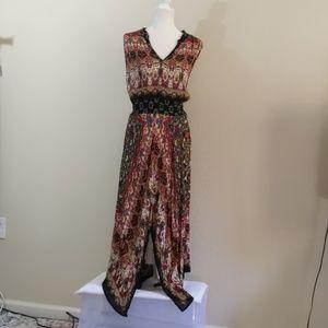 Bila | Multi Print Maxi Dress